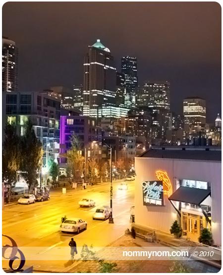 Rainy Seattle Waterfront
