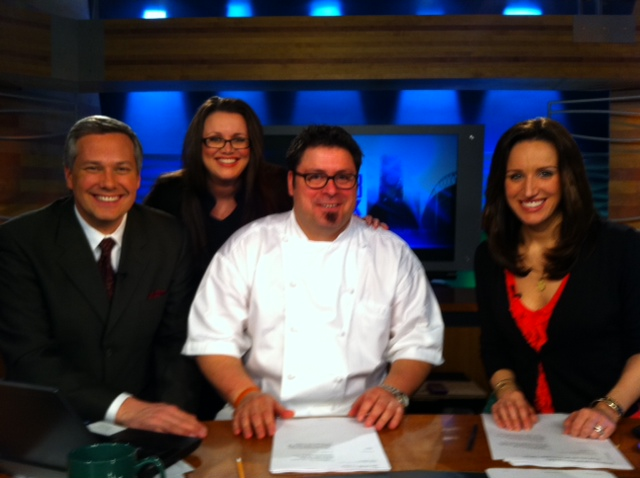 The-@Q13FOX-Morning-Crew-mugging-with-Chef-@LarryMonaco-me