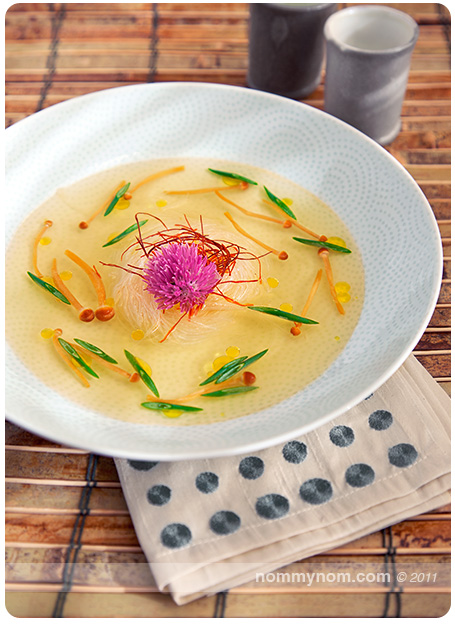Copper River Salmon Dashi